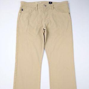 AG The Protege Straight Leg Khakis Jeans Sz 34x28